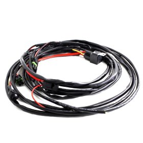 Baja Designs Wiring Harness Squadron/S2 LED Lights - 2 Lights Max 150 watts (640117)