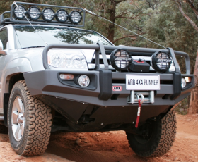 ARB Frontal Winch Bumper Deluxe Toyota 4 Runner 2006-2009 (arb,3421540)