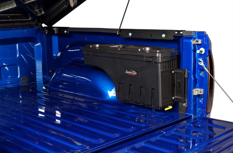 UnderCover SC200P SwingCase Truck Bed Storage Box Ford F250/F350 08-16 Passenger Side