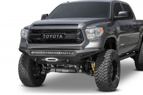 Addictive Desert Designs Stealth Fighter Full Width Front Winch HD Bumper 14-20 Toyota Tundra