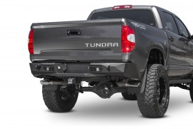 Addictive Desert Designs Stealth Fighter Full Width Rear Winch HD Bumper 14-20 Toyota Tundra