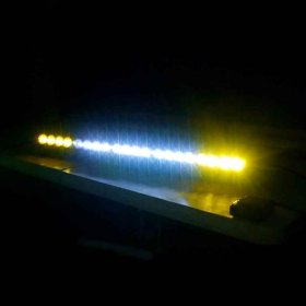 Baja Designs OnX6 Dual Control LED Light Bar Straight Amber/White