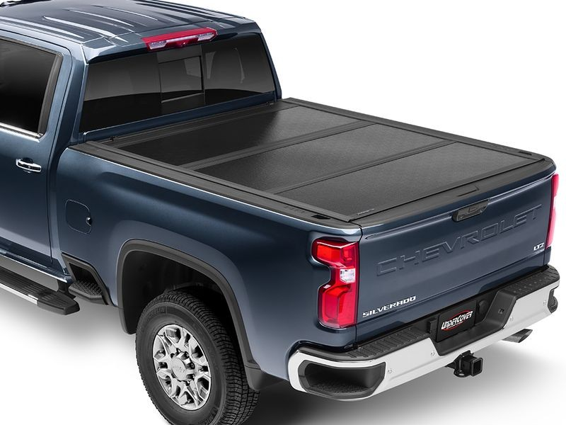 UnderCover Flex FX11019 Hard Folding Truck Bed Tonneau Cover Chevy Silverado/GMC Sierra 1500/2500/3500 14-19 6'7""