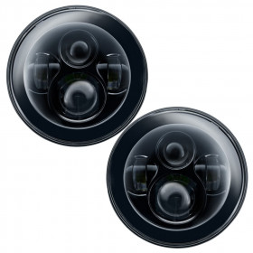 "Oracle Lighting 7"" Round Projector LED Headlights"