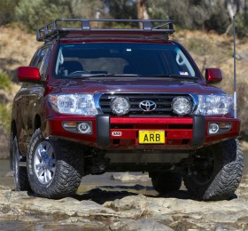 ARB Frontal Sahara Deluxe Bumper Toyota LC 200 2008-2015 (arb,3915040)