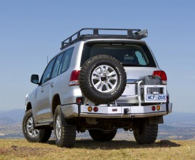 ARB Rear Bumper and Wheel Carrier Toyota LC 200 (arb,5615010)