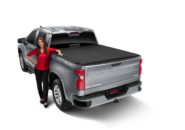 Extang Xceed 85645 Hard Folding Truck Bed Tonneau Cover Chevrolet Silverado 1500/GMC Sierra 1500 07-13 5'9""