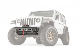 Warn Industries Elite Series Stubby Front Bumper Jeep Wrangler JL / Gladiator JT 18-20 (101325)