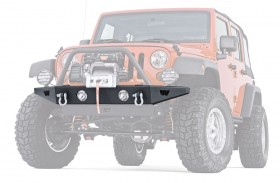 Warn Industries Rock Crawler Front Bumper Jeep Wrangler JK 07-18 (89430)