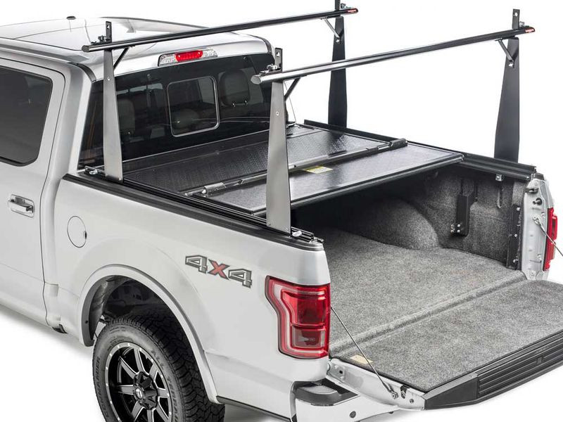 BAKFlip CS 26506BT Hard Folding Tonneau Cover with Rack Nissan Frontier 05-20 4'1""