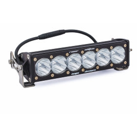 Baja Designs OnX6 Racer Edition LED Light Bar White Spot Beam Pattern