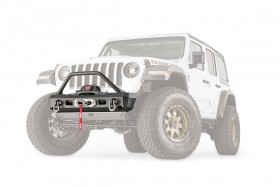 Warn Elite Stubby Front  Bumper With Grille Guard Jeep Wrangler JL / Gladiator JT (101330)