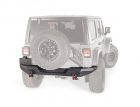Warn Elite Series Modular Rear Bumper Jeep Wrangler JL 18-20 (102190)
