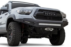 Addictive Desert Designs Honeybadger Full Width Front Winch HD Bumper Toyota Tacoma 16-20 (F687382730103)