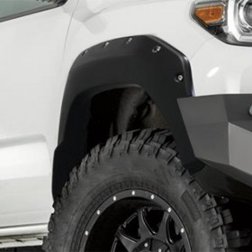 Warn 4X Front and Rear Fender Flares Toyota Tacoma 2016-2020 (102030)