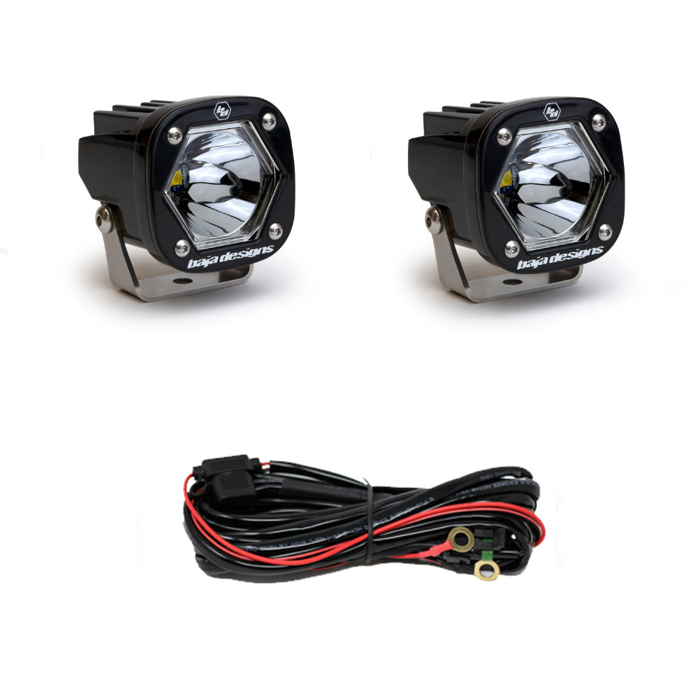 Baja Designs LED S1 Pair with Mounting Bracket