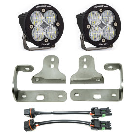 "Baja Designs Squadron-R Sport 3"" LED Lights with Fog Pocket Kit"
