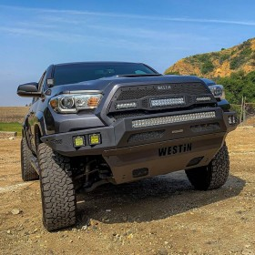 Westin Automotive Pro-Mod Full Width Front Modular Bumper 16-20 Toyota Tacoma (58-41045)