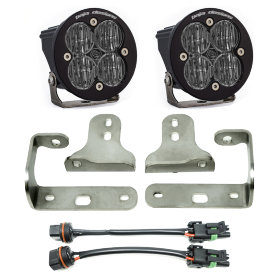 "Baja Designs Squadron-R Pro 3"" LED Lights with Fog Pocket Kit"
