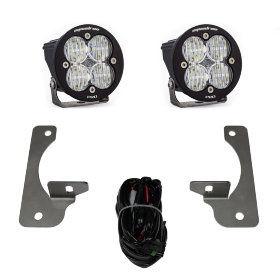 "Baja Designs Squadron-R Pro 3"" LED Lights Fog Pocket Kit Jeep Wrangler JK (597523)"