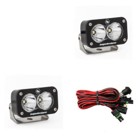 Baja Designs S2 Pro White Beam LED Lights Pair