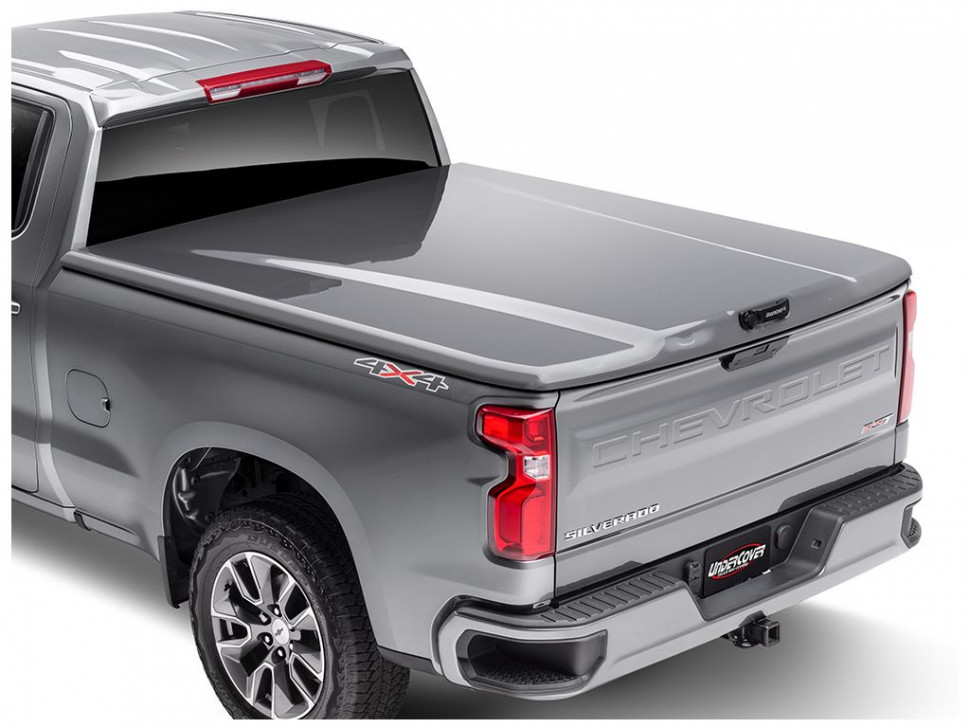 UnderCover Elite LX One-piece Truck Bed Tonneau Cover Chevrolet Silverado 1500 19-21 5'10""