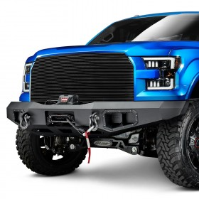 Warn Industries Ascent Front Winch Bumper Ford F-150 15-17 (100915)