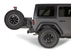 Warn Elite Series Rear Tire Carriers for Jeep Wrangler JL (102255)