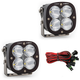 Baja Designs XL Racer Edition White Spot Beam LED Light Pair (687802)