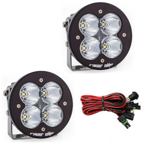 Baja Designs XL-R Racer Edition White Spot Beam LED Light Pair (697802)