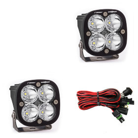 Baja Designs Squadron Racer Edition Spot Beam LED Light Pair