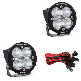 Baja Designs Squadron-R Racer Edition Spot Beam LED Light Pair (737801)