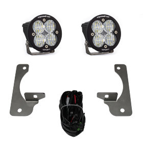 "Baja Designs Squadron-R Sport 3"" LED Lights with Fog Pocket Kit Jeep Wrangler JK Rubicon/Hard Rock Edition (587523)"