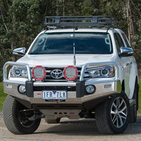 ARB Frontal Commercial Winch Bumper Toyota Hilux 2015+ (arb,7414010)