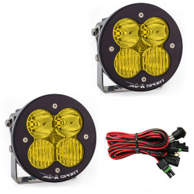 Baja Designs XL-R Pro Amber Beam LED Light Pair