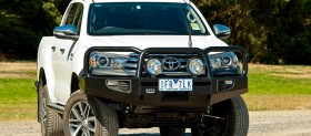 ARB Frontal Commercial Winch Bumper Toyota Hilux 2015+ Wide Body (arb,3414580)