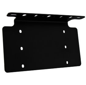 Baja Designs XL-Series, Squadron, S2, S8, OnX6 Universal Lighting License US Plate Mount (610002)